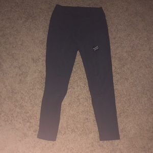 Navy blue high waisted leggings